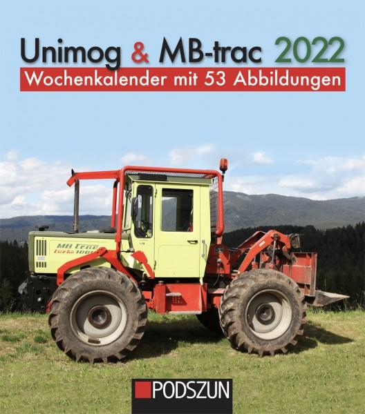 Unimog & MB-trac 2022 Wochenkalender