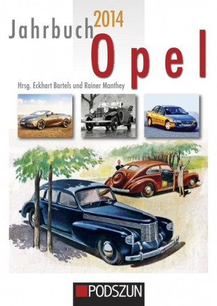 Jahrbuch Opel 2014