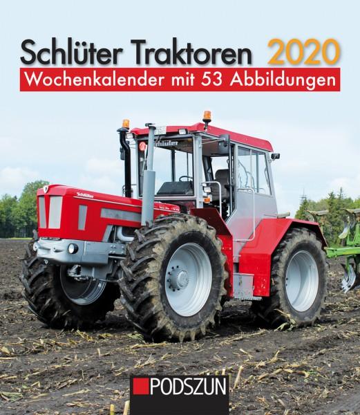 Schlüter Traktoren 2020 Wochenkalender
