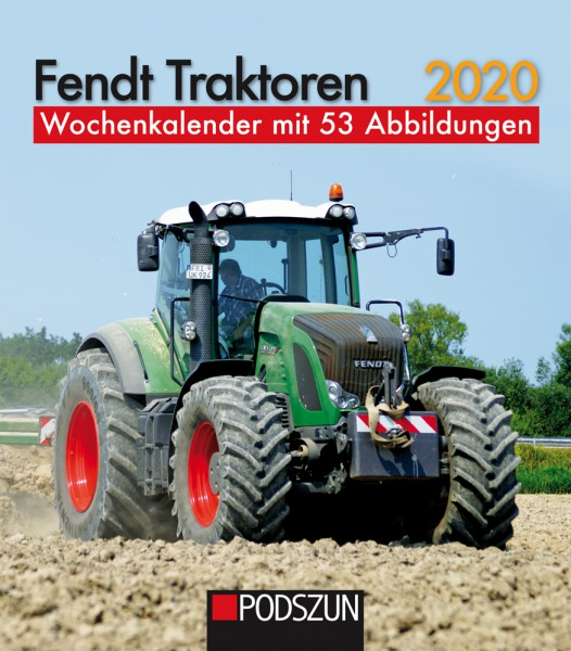 Fendt Traktoren 2020 Wochenkalender