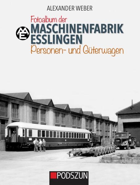 Fotoalbum der Maschinenfabrik Esslingen: Personen- und Güterwagen