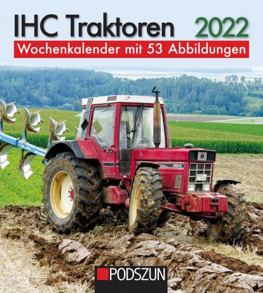 IHC Traktoren 2022 Wochenkalender