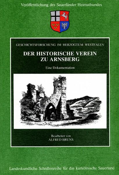 Der Historische Verein zu Arnsberg