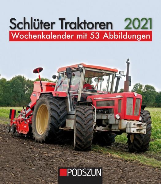 Schlüter Traktoren 2021 Wochenkalender