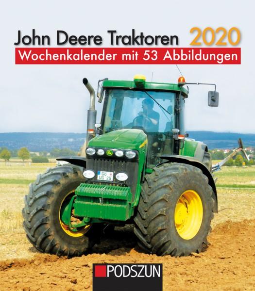 John Deere Traktoren 2020 Wochenkalender