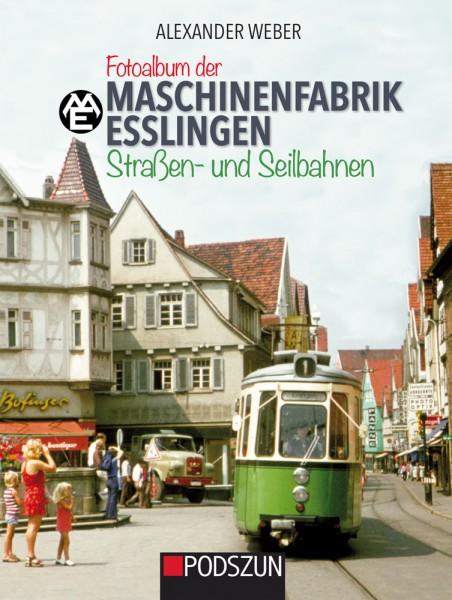 Fotoalbum der Maschinenfabrik Esslingen: Straßenbahnen und Seilbahnen