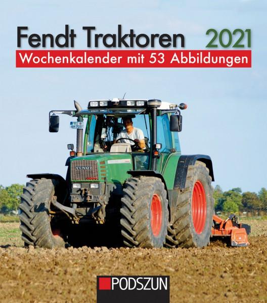 Fendt Traktoren 2021 Wochenkalender