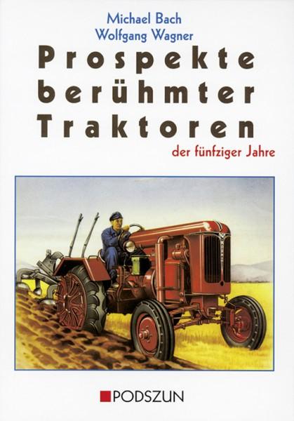 Prospekte berühmter Traktoren der fünfziger Jahre