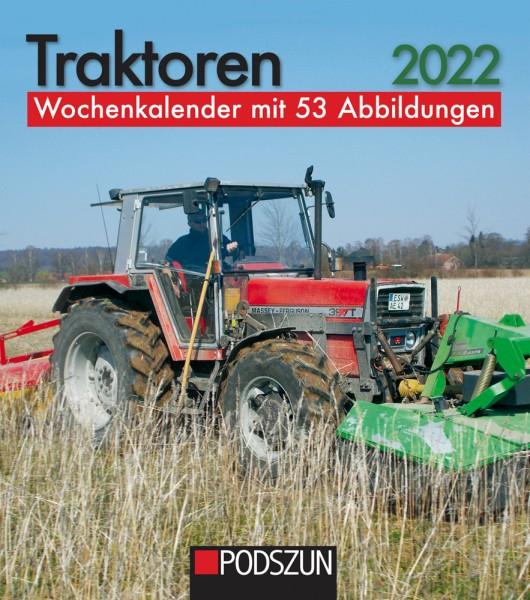 Traktoren 2022 Wochenkalender