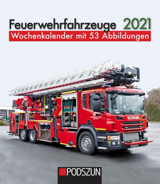 Feuerwehrfahrzeuge 2021 Wochenkalender