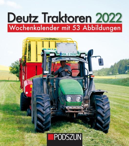 Deutz Traktoren 2022 Wochenkalender