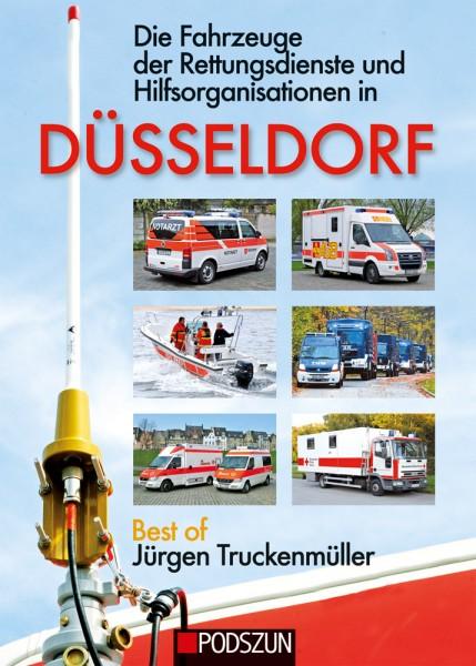 Die Fahrzeuge der Rettungsdienste und Hilfsorganisationen in Düsseldorf