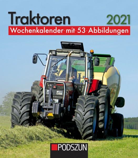 Traktoren 2021 Wochenkalender