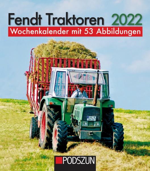 Fendt Traktoren 2022 Wochenkalender