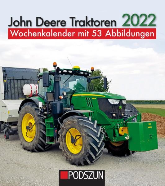 John Deere Traktoren 2022 Wochenkalender