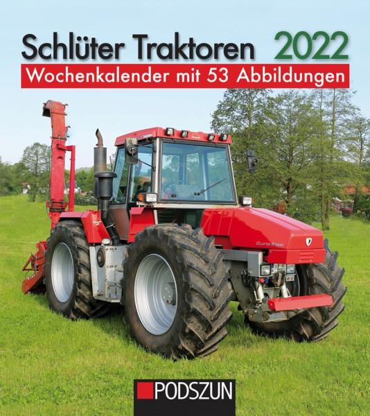 Schlüter Traktoren 2022 Wochenkalender