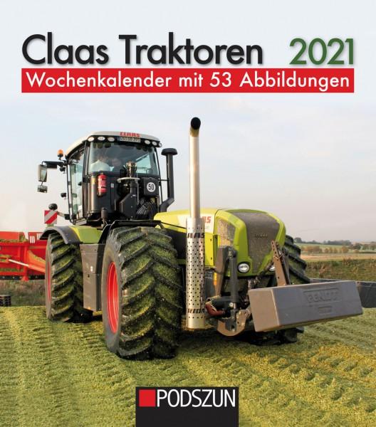 Class Traktoren 2021 Wochenkalender