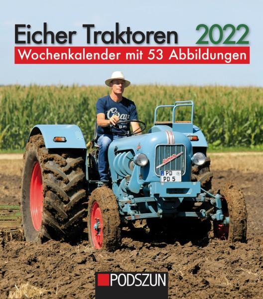 Eicher Traktoren 2022 Wochenkalender
