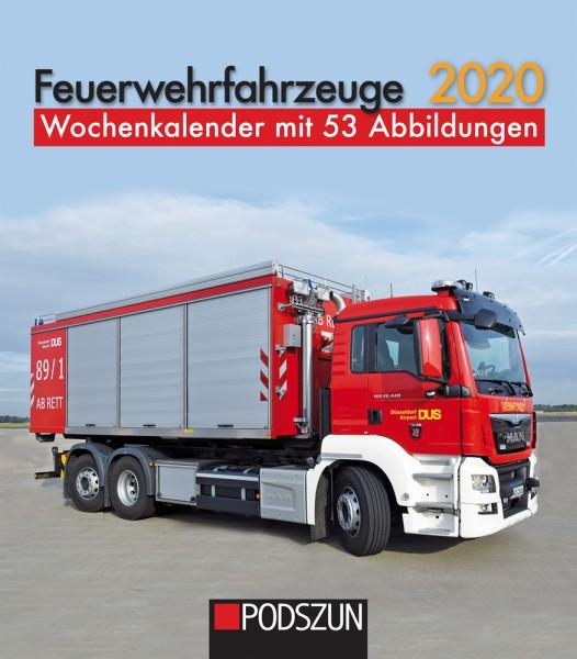 Feuerwehrfahrzeuge 2020 Wochenkalender