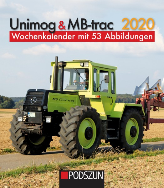 Unimog & MB-trac 2020 Wochenkalender